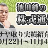 サヤ取り実績紹介20201022~20201104
